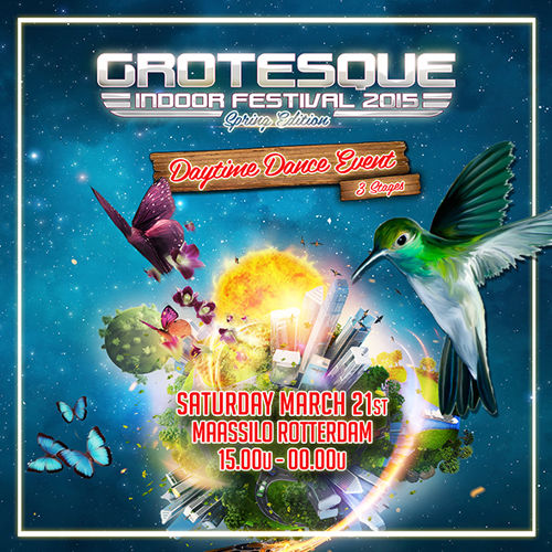 live @ Grotesque Indoor Festival 2015 (Rotterdam, Netherlands) – 21.03.2015