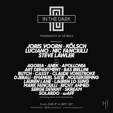 Live @ In The Dark Opening (Hi, Ibiza)