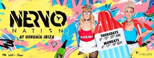 NERVO Nation, Ushuaia Beach Club (Ibiza) – 18.09.2017