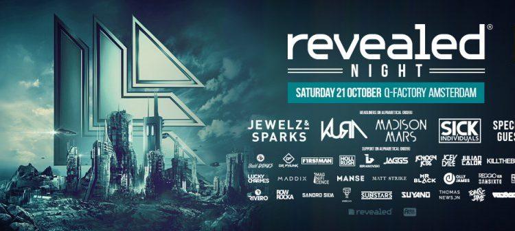 Revealed Night (ADE, Netherlands) – 21.10.2017