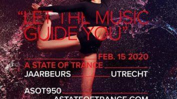 Armin van Buuren (Warm Up Set) live @ A State Of Trance 950 (Utrecht, NL) - 15-02-2020