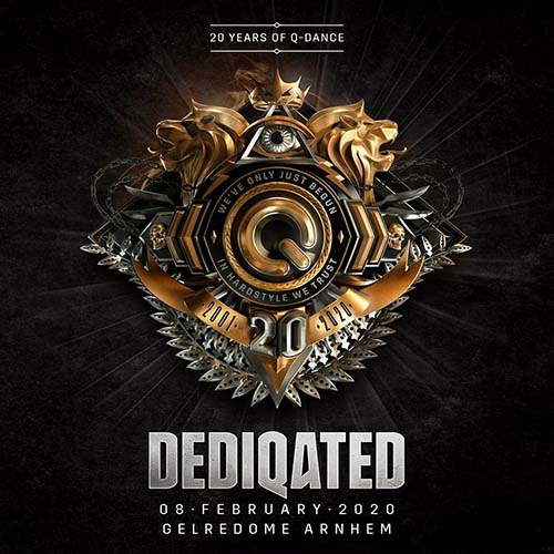 MC Villain & Deepack live @ DEDIQATED 20 Years Of Q-Dance (Gelredome, Arnhem) 08-02-2020