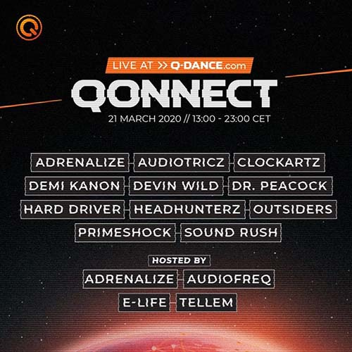 Sound Rush live @ QONNECT Uniting the world through hardstyle 21-03-2020