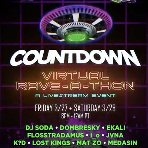 Sage Armstrong – Countdown Virtual Rave-A-Thon