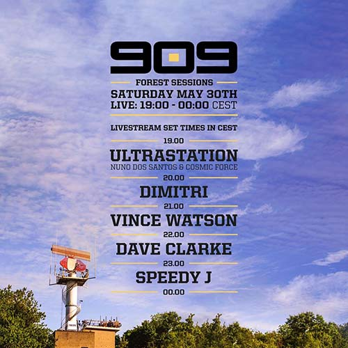 Vince Watson – 909 Forest Sessions