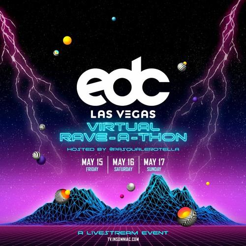 EDC Las Vegas Virtual Rave-A-Thon