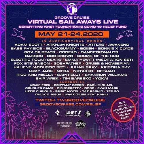 Yokai x Groove Cruise Virtual Festival