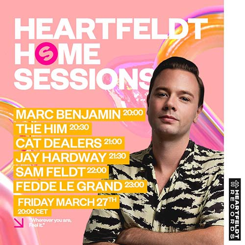 Jay Hardway live @ Heartfeldt Spinnin Home Sessions – 27-03-2020