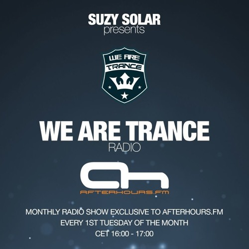 Suzy Solar - We Are Trance Radio