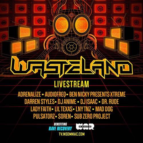Sub Zero Project – Basscon – Wasteland Livestream (May 29, 2020)