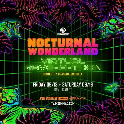 Chris Lorenzo – Nocturnal Wonderland Virtual Rave-A-Thon (September 19, 2020)