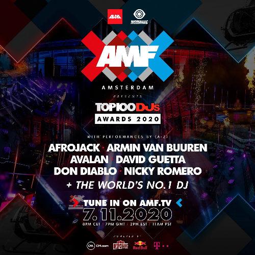 Armin van Buuren – live at AMF presents Top 100 DJs Awards 2020  (Circuit Zandvoort)