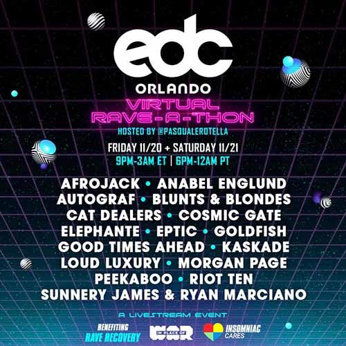 Loud Luxury – EDC Orlando Virtual Rave-A-Thon (November 20, 2020)