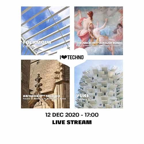 Shlømo B2B Antigone – I Love Techno 2020 – Montpellier