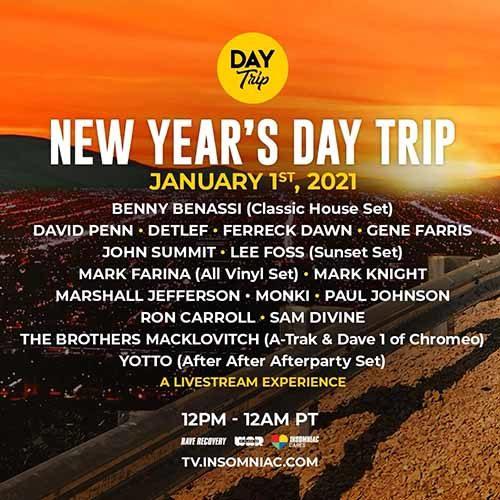 Detlef – New Year's Day Trip Livestream