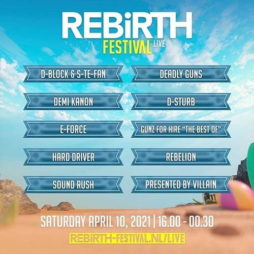 The Best Of Gunz For Hire – REBiRTH Festival 2021