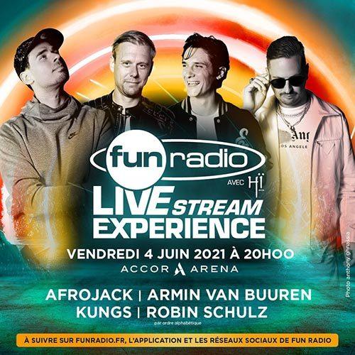 Armin van Buuren – Fun Radio Livestream Experience, AccorHotels Arena Paris 2021-06-04