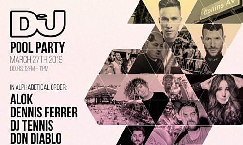 Armin van Buuren – live @ DJ Mag Pool Party (Miami Music Week) – 27-MAR-2019