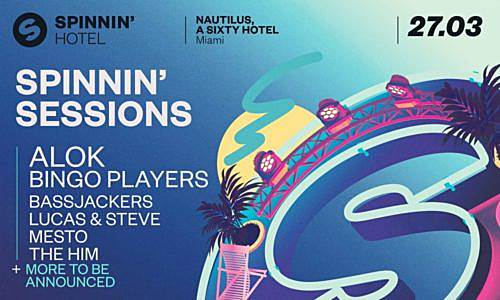 Bassjackers – live @ Spinnin Sessions (Miami Music Week) – 27-MAR-2019