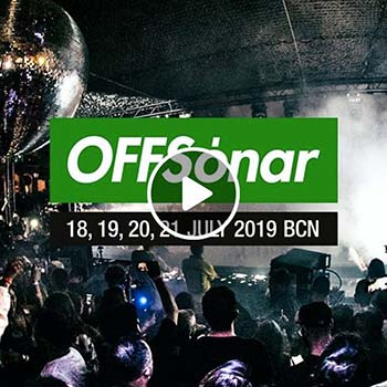 Adam Beyer B2B Enrico Sangiuliano – OffSonar 2019 (Barcelona, Spain)